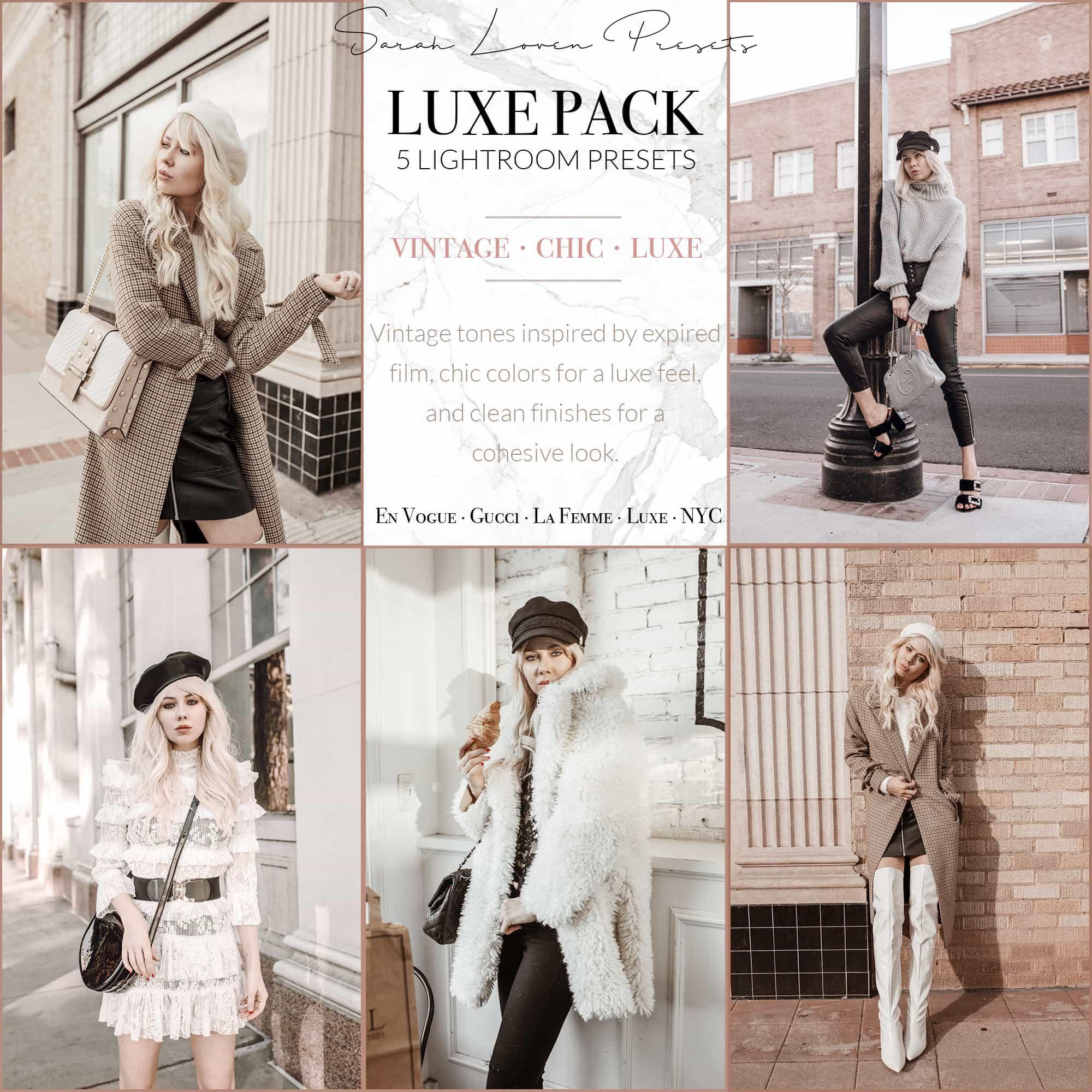 SarahLoven-Luxe-Pack-Lightroom-Presets