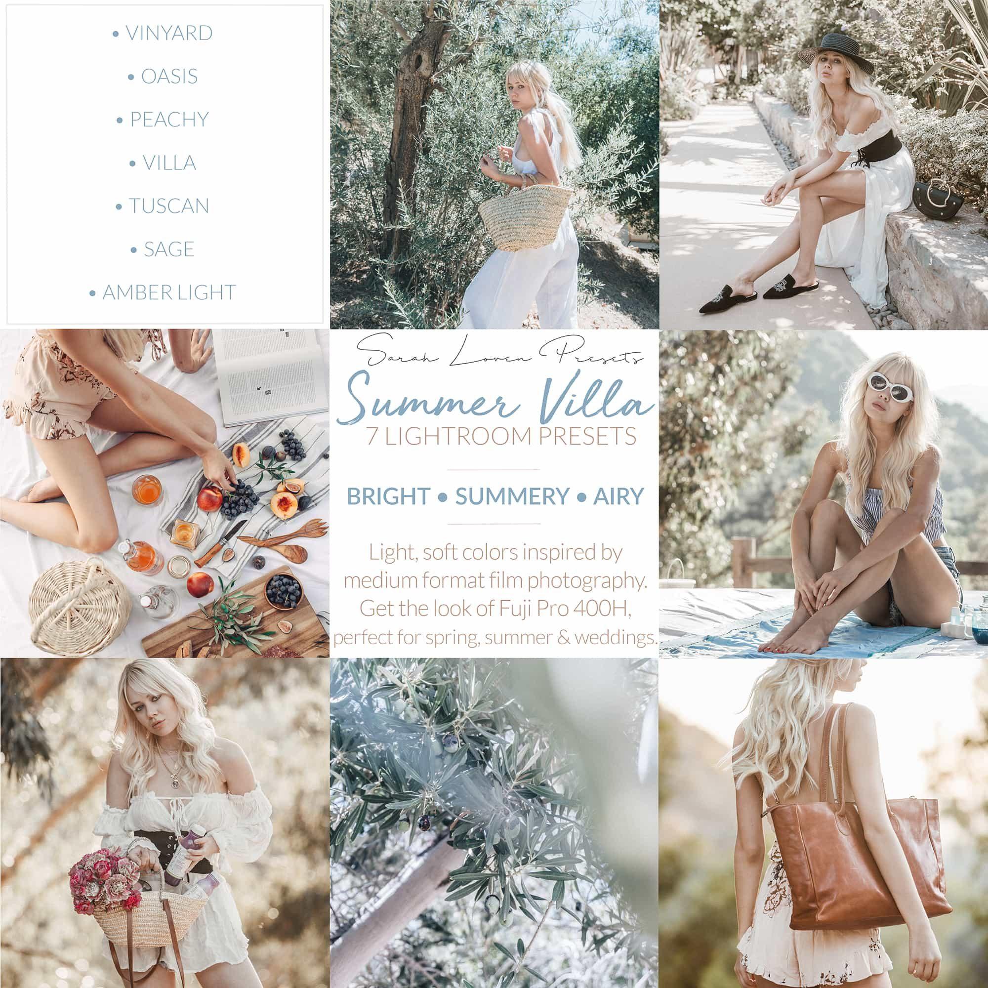 Sarah Loven Presets - Summer Villa