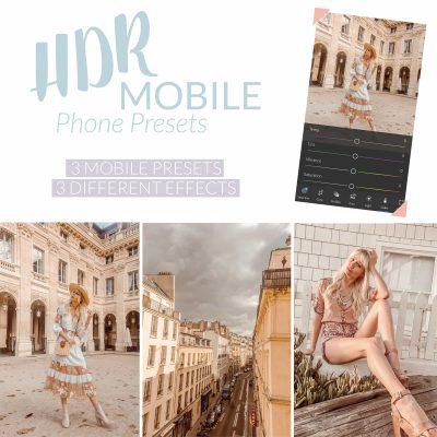 Sarah Loven Presets HDR Mobile Preset Pack.