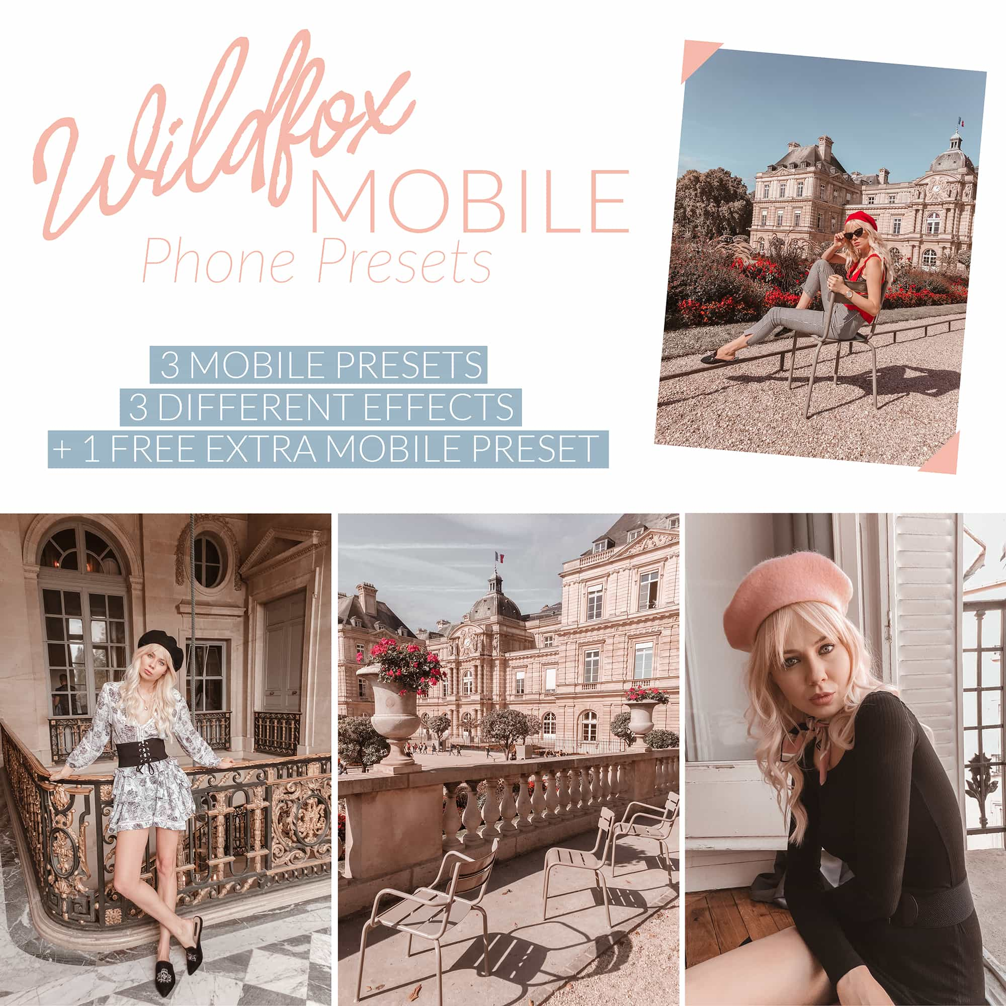 Sarah Loven Presets Wildfox Mobile Presets Pack.